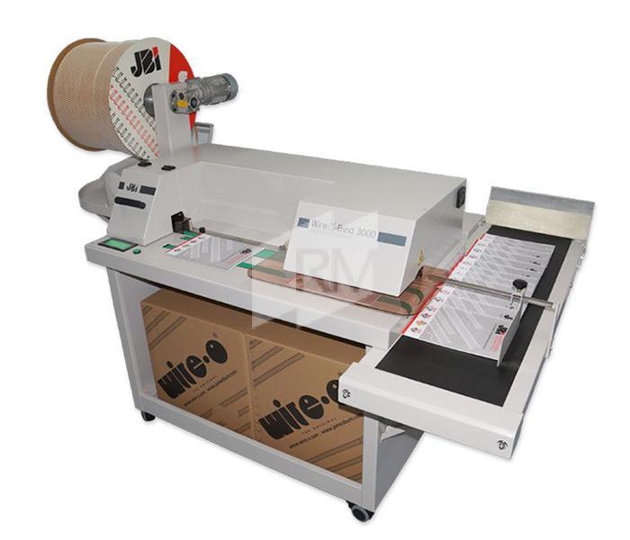 JBI WOB 3000 - semiautomatische Schließmaschine
