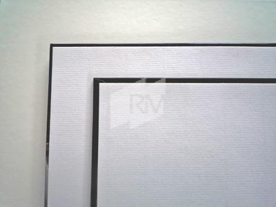 + Vorsatzpapier, weiß, gerippt, 61x86 cm, 100g, BB