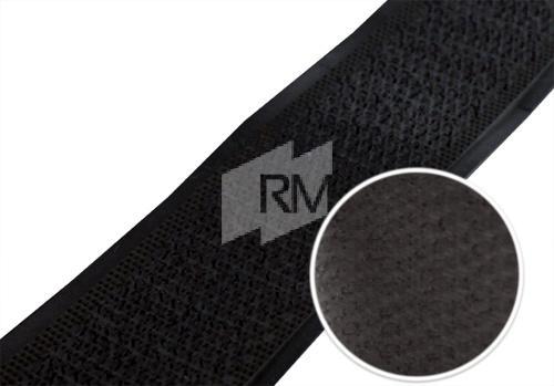 Klettband schwarz 20 mm selbstklebend
