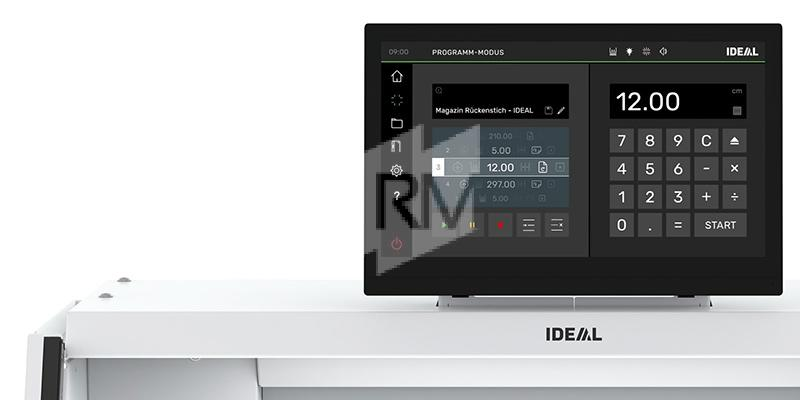 IDEAL THE 56 Touchscreen Display