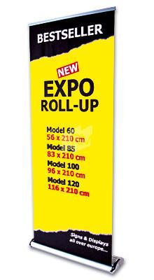 + Roll-Up Expo einseitig 96 x 210cm