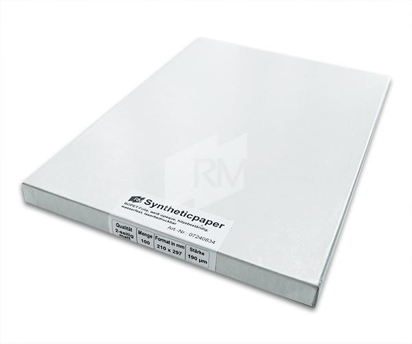 RM Synthetisches Papier weiß-opaque, 190µ, A4