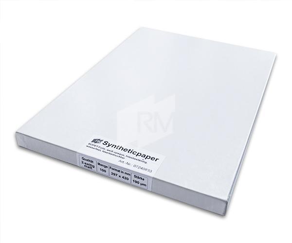 RM Synthetisches Papier weiß-opaque, 190µ, A3