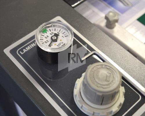 GMP QTOPIC-380 F Druckeinstellung