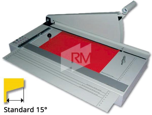 RM Register-Schneidmaschine 5 - 15° Standard