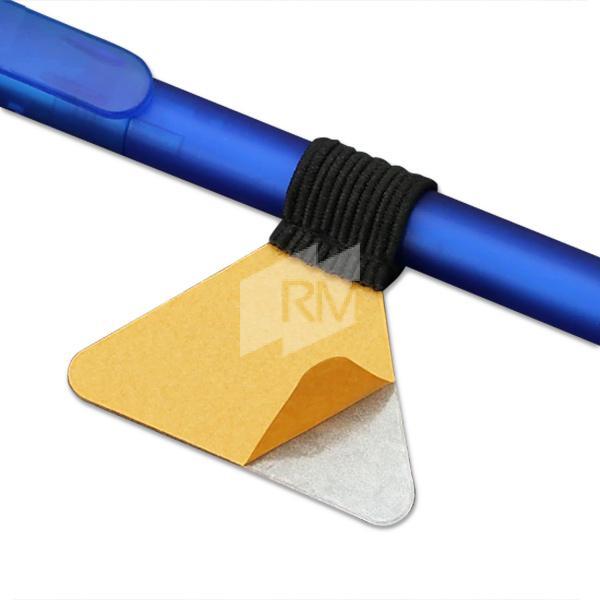 RM Stiftschlaufe selbstklebend, schwarz