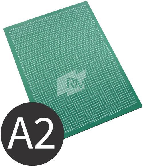 Schneidematte A2 45x60 cm grün schwarz