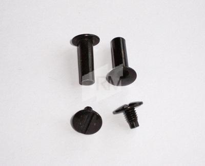 # RM Buchschrauben Alu schwarz eloxiert, FH: 3,5mm