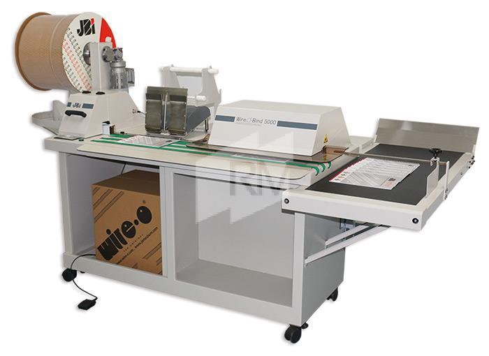 JBI WOB 5000 - semiautomatische Schließmaschine